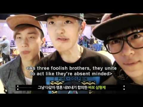 daehyun zelo amp jongup the foolish brothers ft yongguk