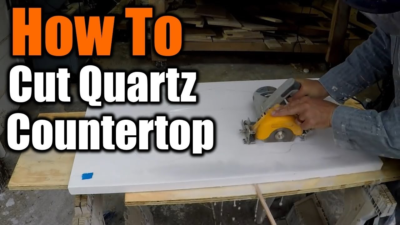 How To Cut A Sink Hole In Granite And Quartz Countertops The Handyman 1940s Bathroom Remodel