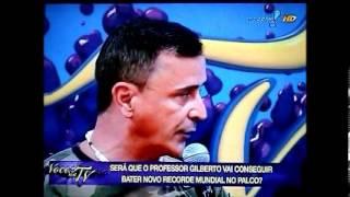 Gilberto Cruz Recordista (você na tv)