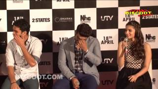Full: 2 States 2014 Movie | Alia Bhatt, Arjun Kapoor | Trailer Launch