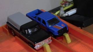 Hot Wheels Ford Truck Drag Race (Pick em #6)
