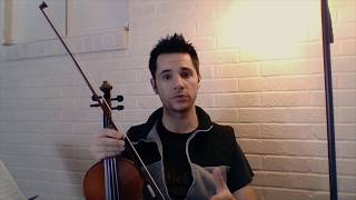 D Major Scale And Arpeggios In One Octave On The Violin