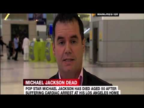 Sky News Interview Terry George about his Friendship with Michael Jackson