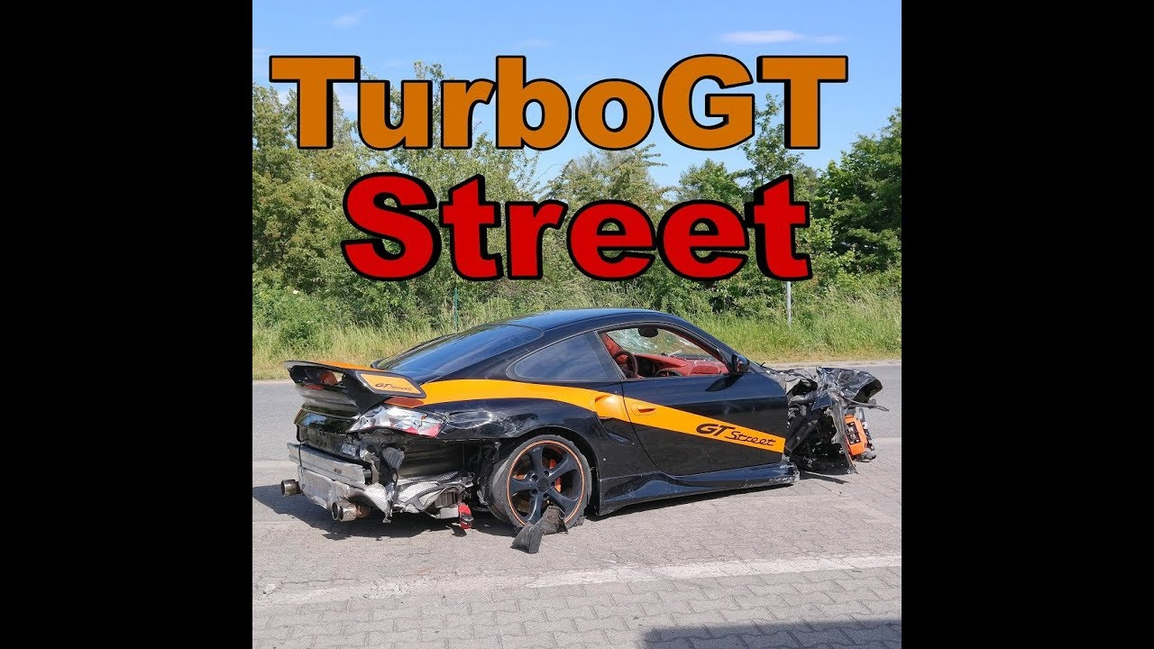 unfall porsche 996 turbo gt street mit 475kw 650ps youtube. Black Bedroom Furniture Sets. Home Design Ideas