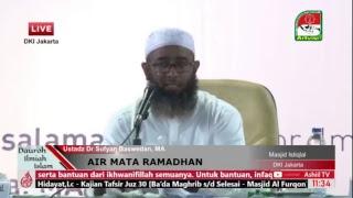 [LIVE] AIR MATA RAMADHAN