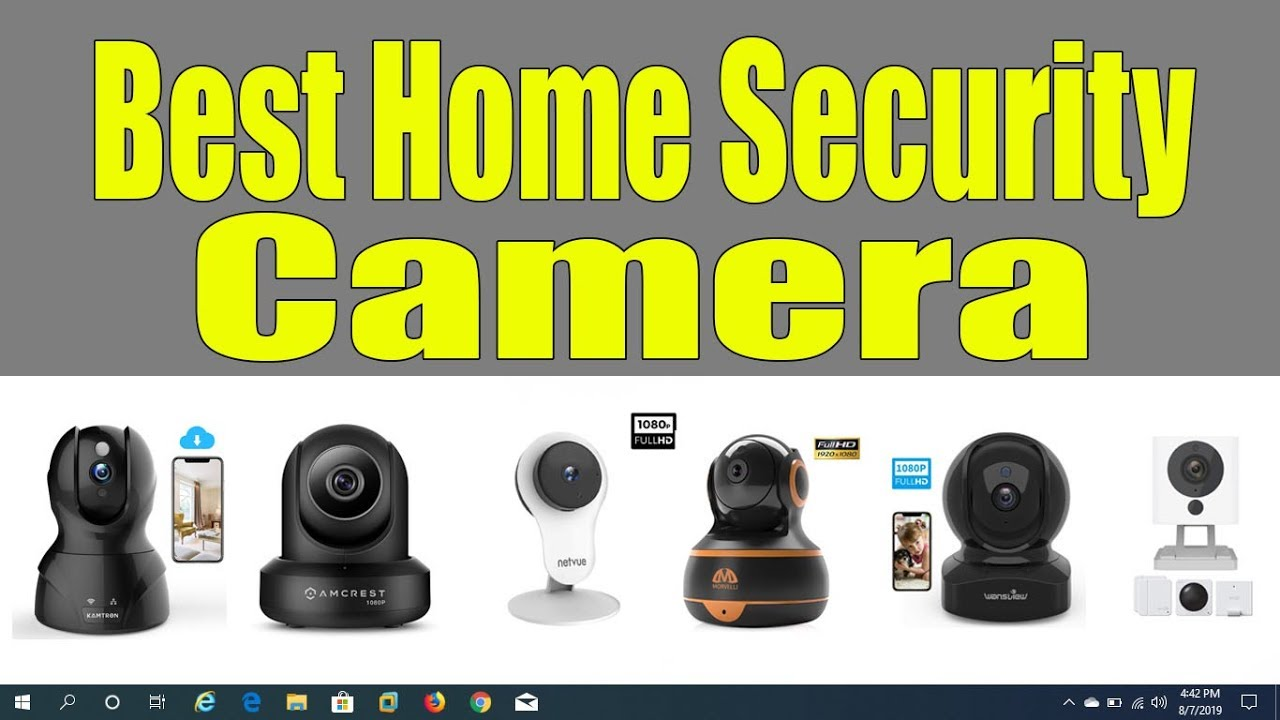 Best Home Security Cameras WiFi IP Camera With Cloud Storage WYZE KAMTRON  MORVELLI WANSVIEW NETVUE