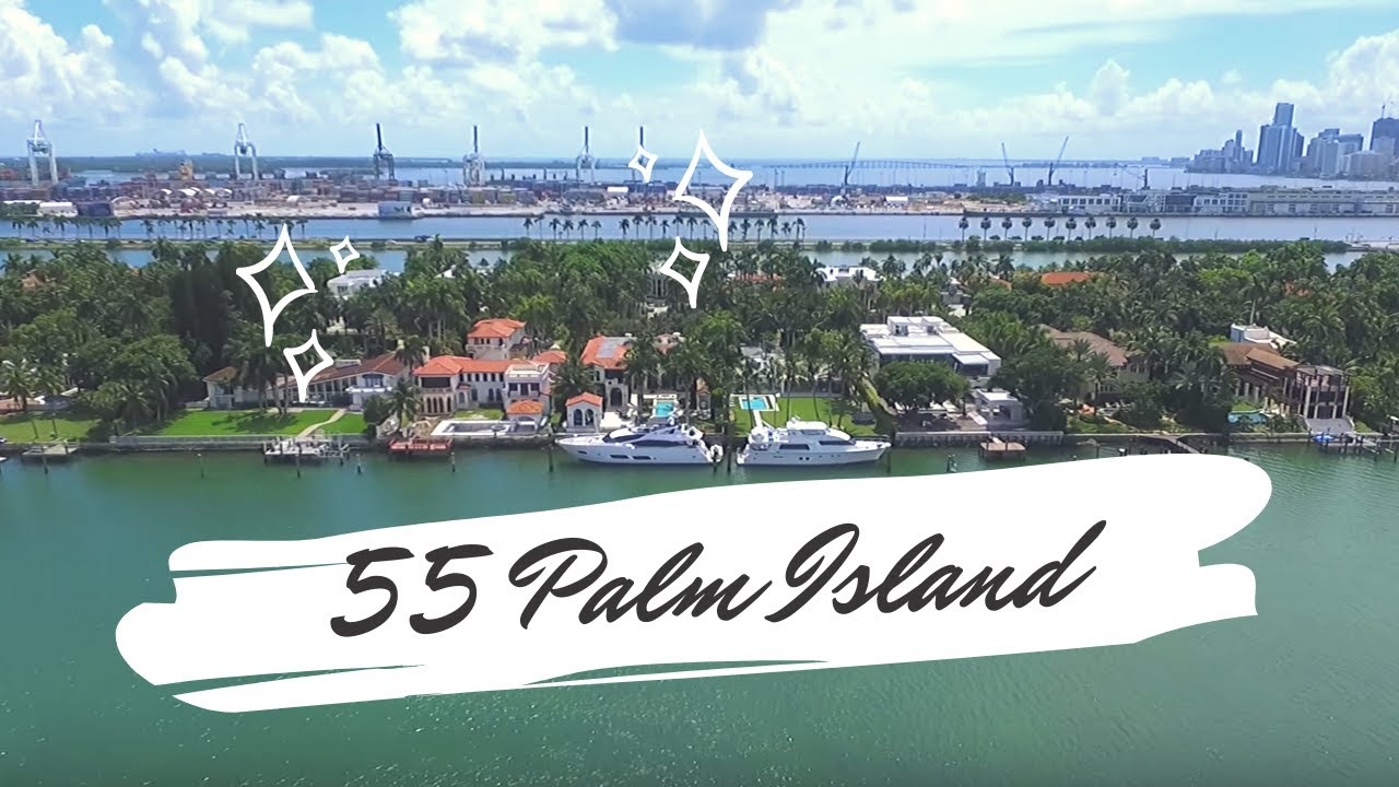 55 Palm Island Miami Beach FL  YouTube