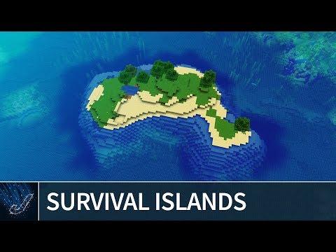Minecraft 1.13: BEST SURVIVAL ISLAND SEEDS 2018 - Minecraft 1.13 Java Edition Seeds