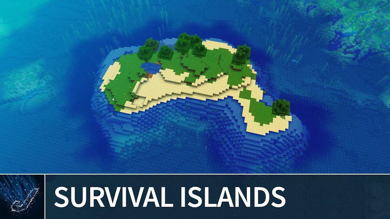 Minecraft 113 Best Survival Island Seeds 2018 Minecraft 113 Java Edition Seeds