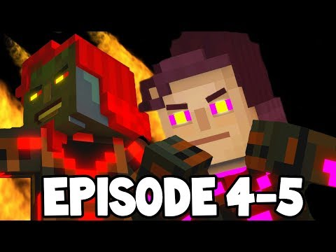 Minecraft Story Mode Season 2 The 3 Admins Xara Romeo Fred
