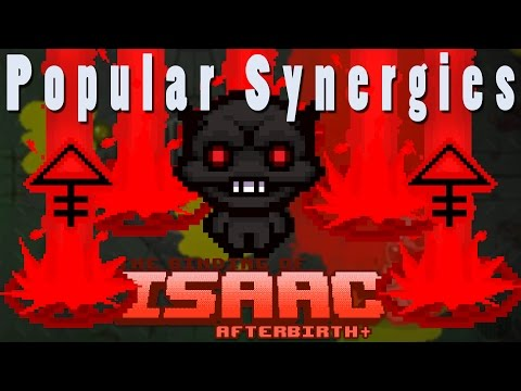The Binding of Isaac Afterbirth Plus   Hellbeams From Heaven!   Popular Synergies!