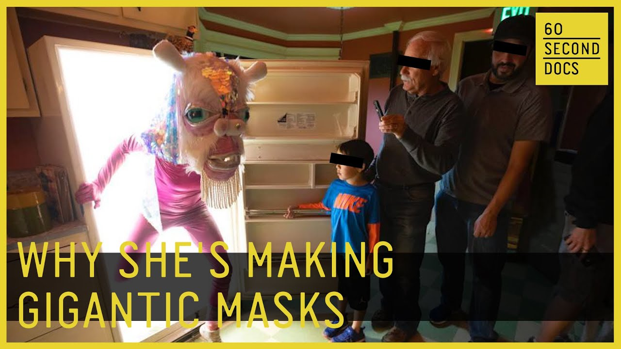 Why She's Making Gigantic Masks