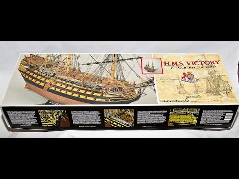 Mamoli H.M.S. Victory 104 Gun Ship 1:90 Wooden Scale Model Kit