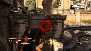Gears of War with Black Tusk Developers #5 - Old Town King of the Hill