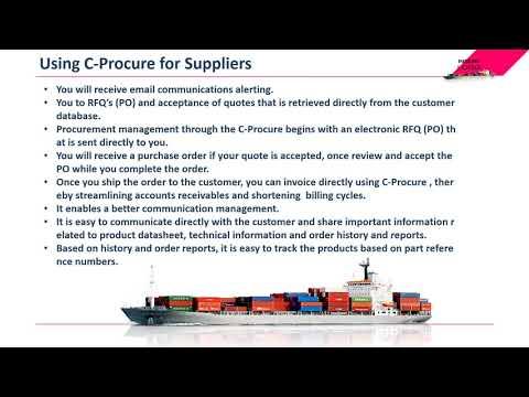 Marine Procurement Management Software