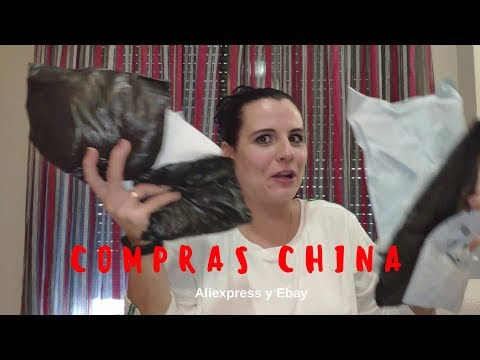 Compras china (aliexpress y ebay)