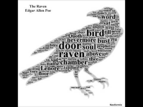The Raven - Edgar Allan Poe - recited by the Raven - YouTube