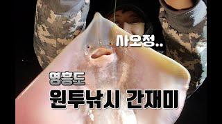 영흥도#원투낚시#간재미#망둥어#바다낚시#밤낚시