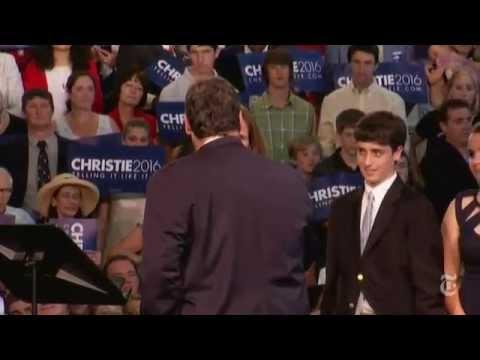 Chris Christie Announces Presidential Bid | The New York Times