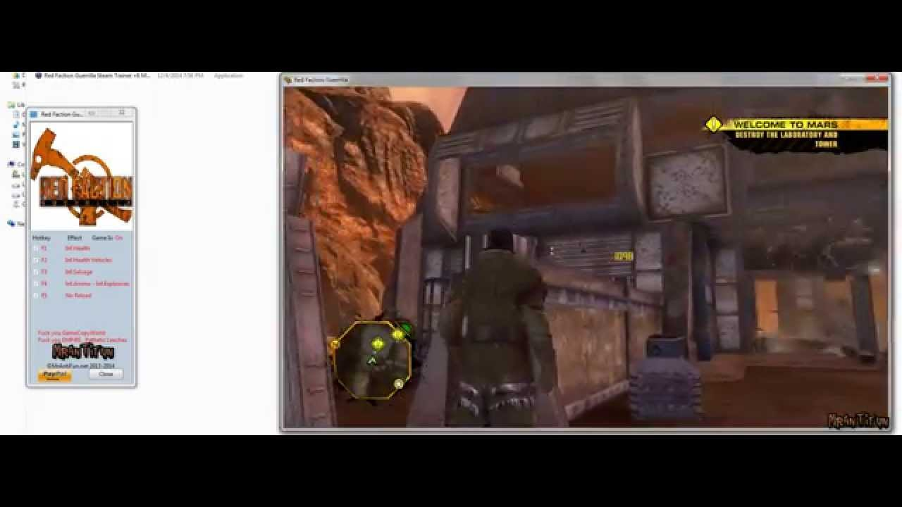 red faction guerrilla cheat engine