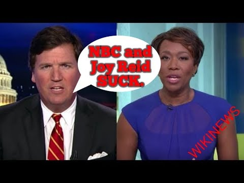 NBC Sucks, they lied about JOY REID Blog post. By TUCKER CARLSON.