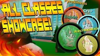 ALL CLASS ABILITIES SHOWCASE | ESPER ONLINE | ROBLOX | NEW MOB PSYCHO 100 GAME!!