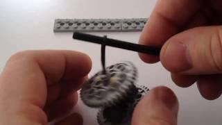 LEGO-Машинка з гумовим ''моторчиком'' - інструкція