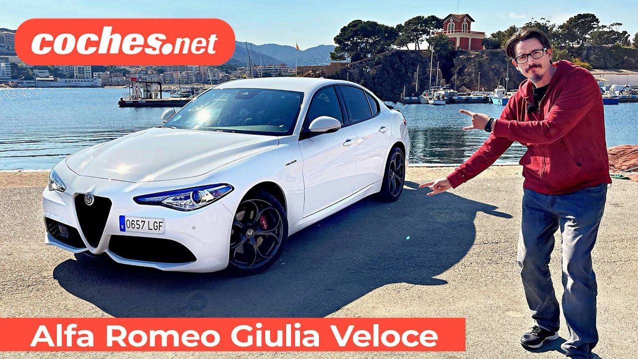 Download Alfa Romeo GIULIA VELOCE 2021   Prueba / Test / Review en español   coches.net