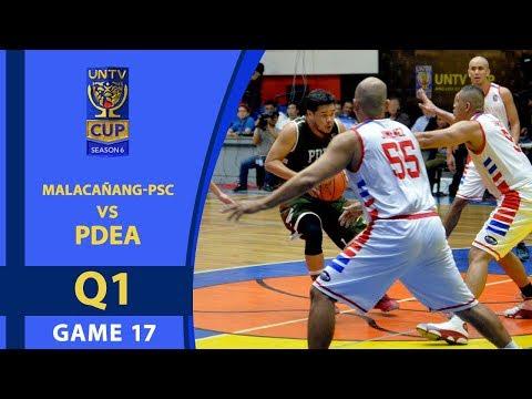 UNTV Cup 6: Malacañang-PSC vs PDEA — Q1
