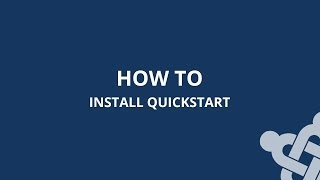 How to install Joomla Quickstart package in cPanel