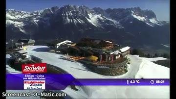 Bergbahnen Ellmau-Going   Webcam Livevideo   KW 13 2015