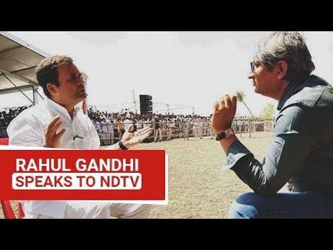 EXCLUSIVE: Rahul Gandhi Speaks To NDTV's Ravish Kumar | Watch Full Interview