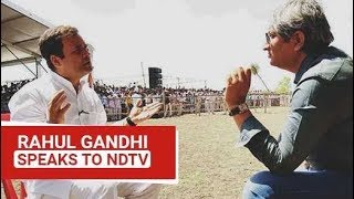 EXCLUSIVE: Rahul Gandhi Speaks To NDTV\'s Ravish Kumar | Watch Full Interview