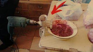 Приколы креативных строителей. Как приспособить строительный инструмент на кухне.