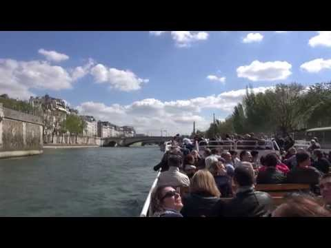River Seine Boat Cruise, Paris, France