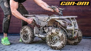 Kids CAN-AM Outlander ATV 49cc - Restoration Abandoned Mini ATV