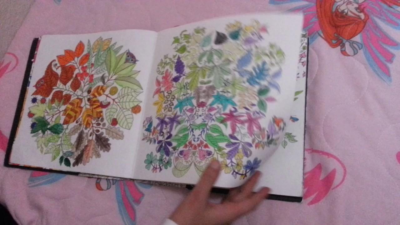 Esrarengiz Bahçe Boyama Kitabı Youtube