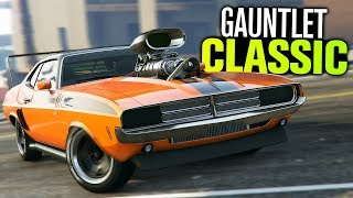 GTA 5 Online - NEW Gauntlet Classic Customization (Diamond Casino)