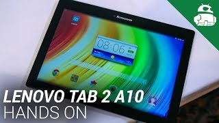 Lenovo Tab 2 A10 Hands On