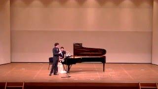 Nicolas Baldeyrou / E.Chausson Andante et Allegro