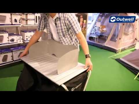 Mueble cocina camping Outwell Sudbury - YouTube