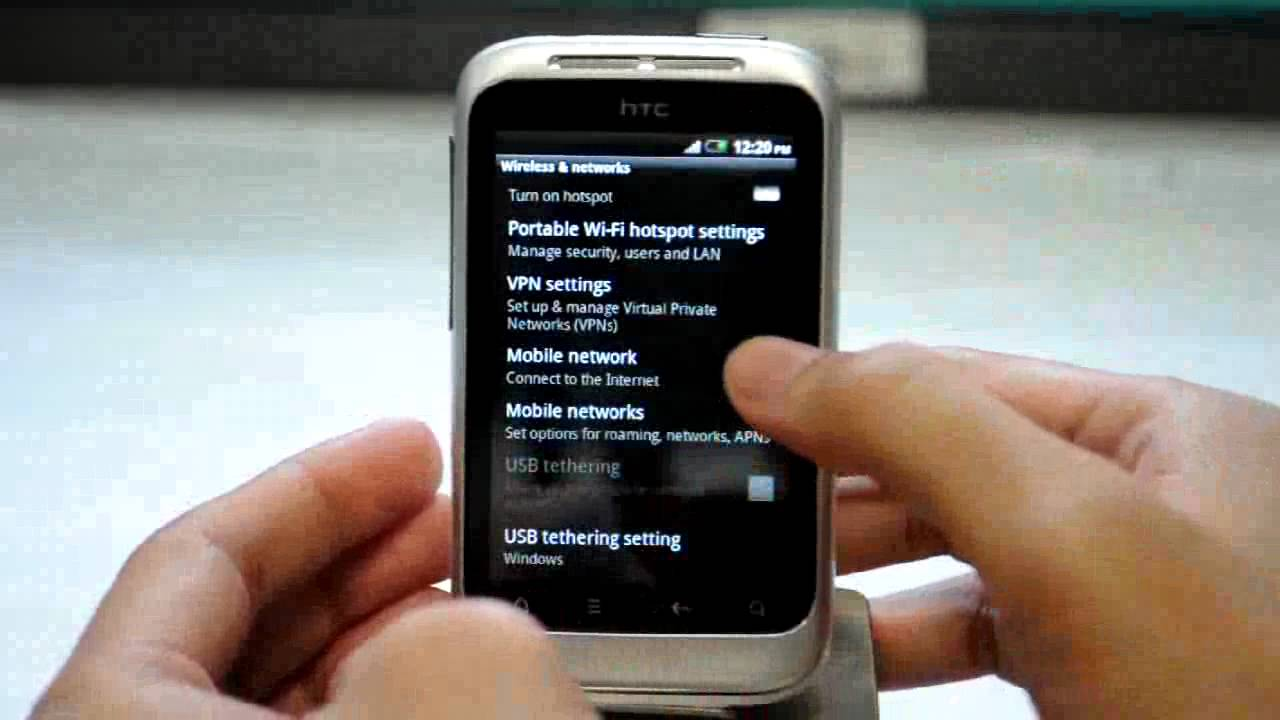 DRIVERS: HTC WILDFIRE S USB TETHERING