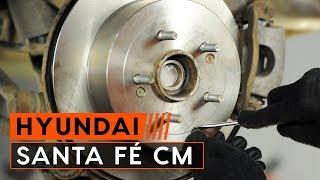 Montage Remblokkenset vóór en achter HYUNDAI SANTA FE: videotutorial