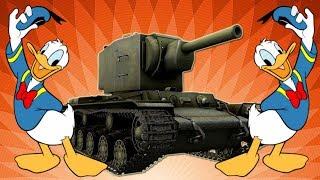 Jubileuszowe bitwy #501 - Kaczor na KV-2 :)