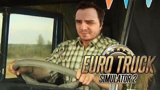 Мэддисон везет высокотехнологичный батут в EuroTruck Simulator 2