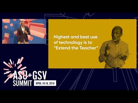 ASU GSV Summit: Primetime: Education: It's a Human Business