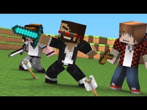 """Hey CaptainSparklez"" - Fan Made Minecraft Animated Music Video"
