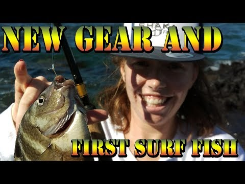Trials Of The Dangalang - First Fishes - New Cadence Fishing Gear - Surf Fishing In Hawaii - BODS 48