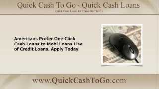 One Click Cash Loans are the Fastest Short-Term Lending Solution Available