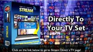 Stream Direct TV - The Largest Online TV Network - Single Payment!!